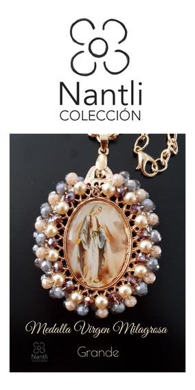 Medalla De La Virgen ( 2 Medallas)