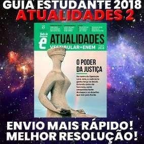 Revista Guia Do Estudante 2019 Atualidades Semestre 2 Brinde