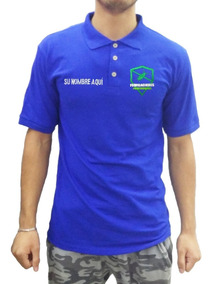 Playera Tipo Polo 4 Bordados