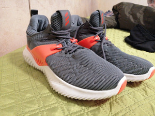 Zapatos adidas Gris