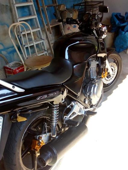 Cb 500 1998 Muito Conservada