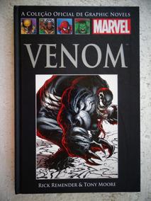 Coleção Oficial De Graphic Novels Nº 68! Venom! Salvat 2016!