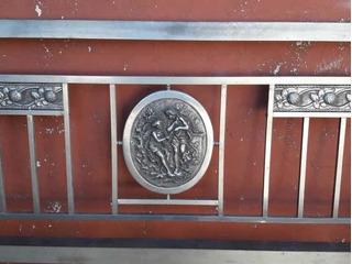 Cama Bronce Antigua Dos Plazas