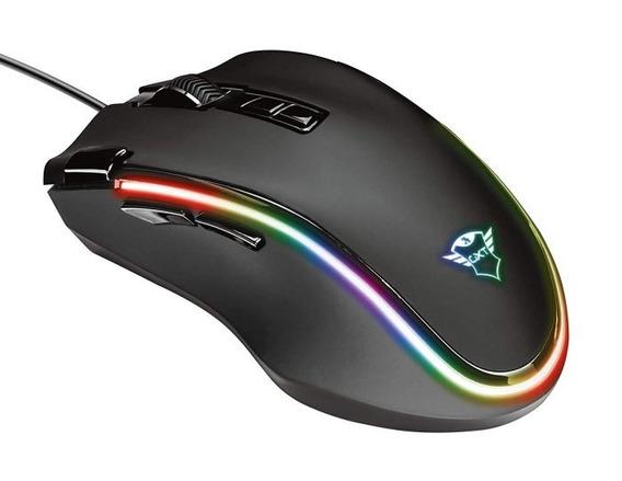 Mouse Trust Gamer Gxt 188 Laban Rgb 15.000 Dpi