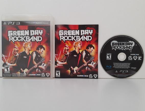Green Day Rock Band Ps3 Midia Fisica Rockband