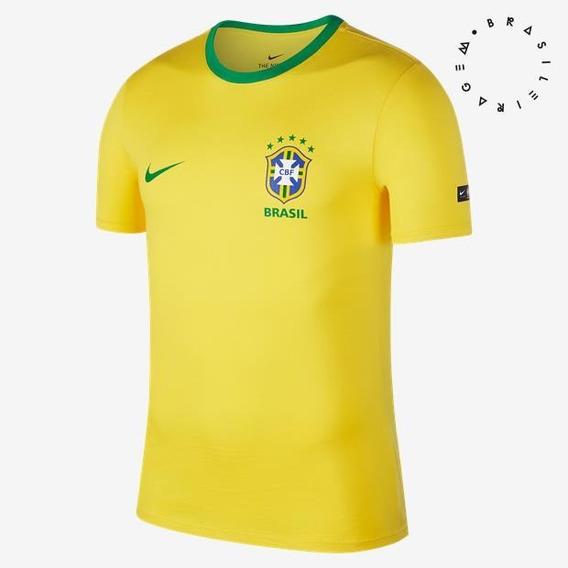 Cam Brasil Cbf Nike Top