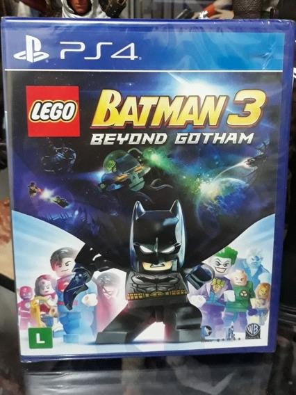 Jogo Lego Batman 3 Beyond Gotham Ps4 Português Novo Lacrado