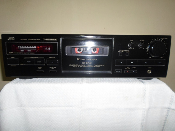 Tape Deck Jvc Td-v562 3 Cabeças Funcionando Normalmente
