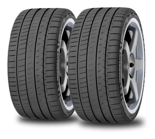 Imagen 1 de 12 de Kit X2 Neumáticos 245/35/18 Michelin Pilot Super Sport 92y
