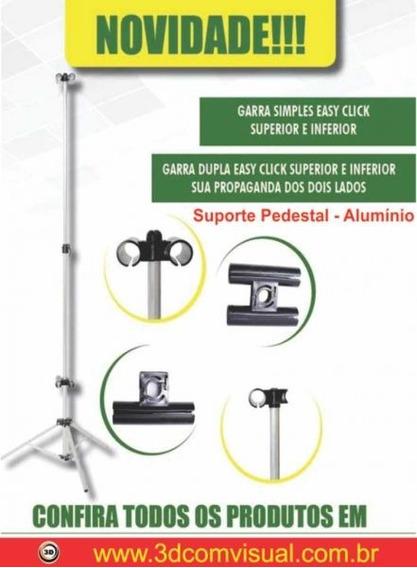 Porta Banner - 60%- Com Garra Dupla - 2 Unid.
