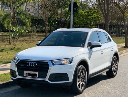 Nova Audi Q5 Branco Attraction 252cv Gasolina Quattro 2018