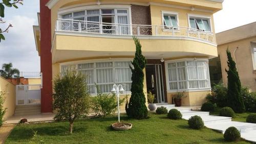Imagem 1 de 10 de Sobrado Com 4 Dormitórios À Venda, 438 M² Por R$ 2.300.000,00 - Burle Marx - Santana De Parnaíba/sp - So0214