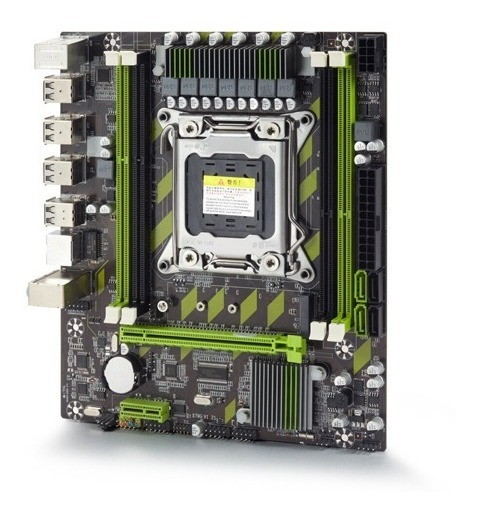 Kit Placa Mãe 2011 + Xeon E5-2620v2 + 32gb Ram Workstation