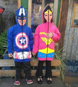Blusa De Frio Infantil Com Capuz-máscara