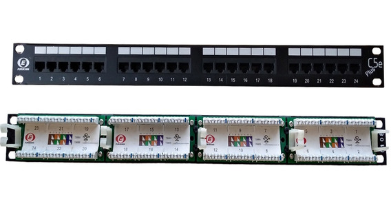 Patch Panel - 24 Portas