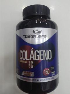 Colágeno Hidrolisado + Vitamina C 450 Cápsulas Gel