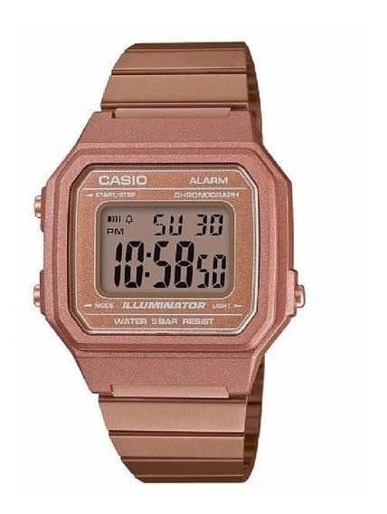 Relógio Casio Vintage B650wc-5adf Original Com Nota Fiscal