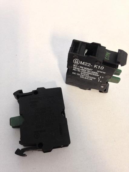 Bloco De Contato 1no Eaton M22 - Modelo: M22-k10