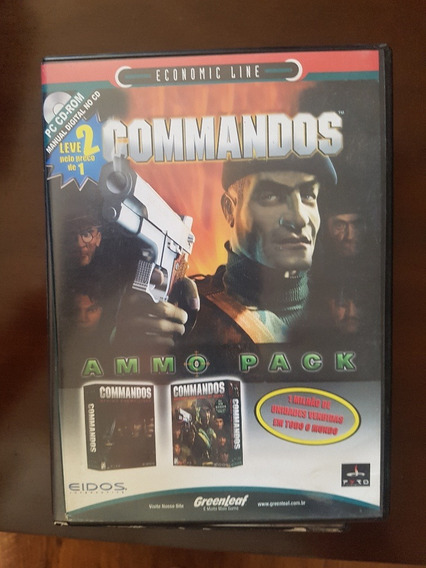 Commandos Ammo Pack Game Original Frete $9