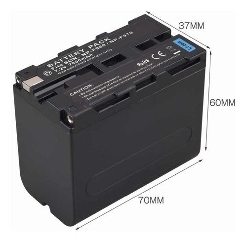 Bateria Padrão Sony Np-f 970 P/ Led Portátil Filmadora Sony