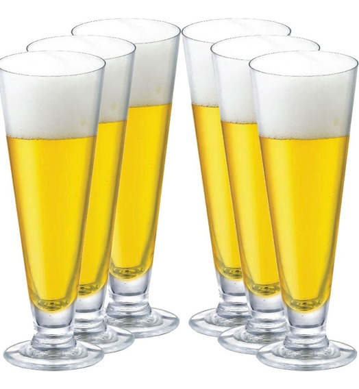 Taça Cerveja Copo Cerveja Jogo Conjunto 6 Peças