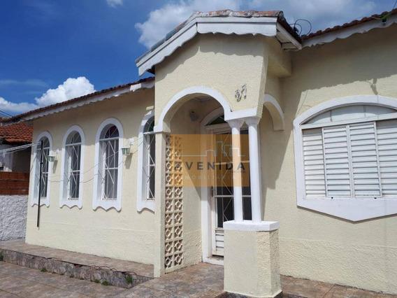 Casa Residencial Para Venda E Locação, Vila Monte Alegre Ii, Paulínia. - Ca0991