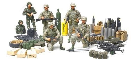 Tamiya 1/35 U.s. Elite Infantería Moderna Con Accesorios