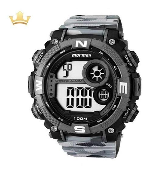 Relógio Mormaii Masculino Mo12579a/8c Com Nf