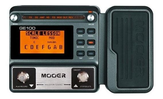 Pedaleira Para Guitarra Mooer Ge100 - Pd1074