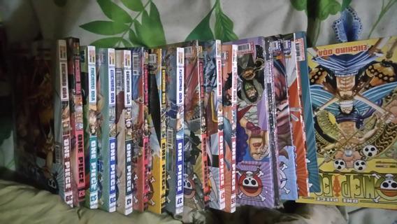 Mangá One Piece Lotes Varios Volumes (descrição)