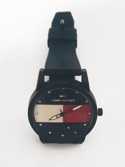 Promoção - Relógio Tomy Hilfiger Social Azul Marinho