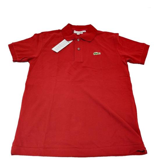 Camisa Polo Lisa Básica - Lacost - 99% Original