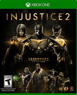 ..:: Injustice 2 Legendary Edition ::.. Para X Box One En Gc