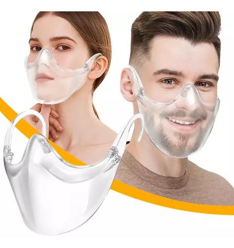 Tapabocas Transparente Mascara Careta Protector Facial