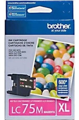 Cartucho Brother Original Lc-75m Xl 07ml Magenta Vencido