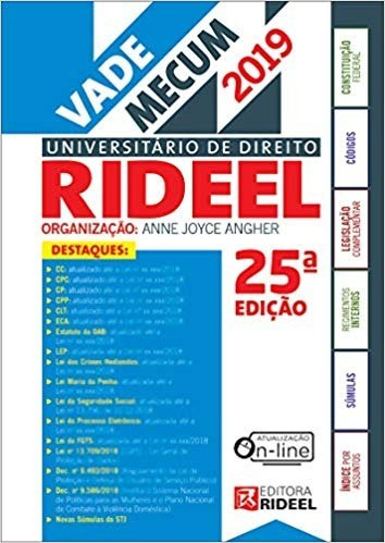 Vade Mecum Universitário De Direito (português) Espiral 2018