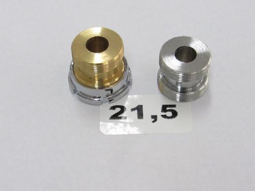 Imagen 1 de 1 de Adaptador Bronce Diámetro 21.5 Mm