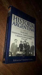 Falcon Nueva Historia Argentina Tomo 6 Democracia Conflicto