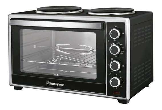 Horno Electrico 60 Litros Timer Grill + Anafes Whestinghouse