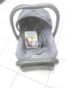 Bebê Conforto Burigotto Touring Com Base Cinza Até 13kg
