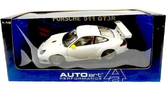 Porsche 911 Gt3r Street (2001) Auto Art Escala 1/18 Raridade