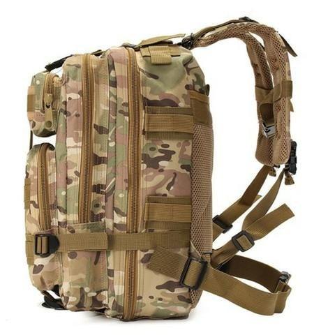 Mochila Tática Militar Assalt 30l Porta Camelback Promoção