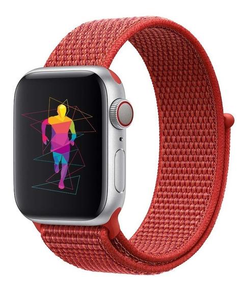 Correa Generica Nylon Sport Para Apple Watch 38-40mm 42-44mm