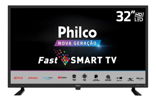 Imagem 1 de 6 de Smart Tv Led 32'' Hd Ptv32d10n5skh Com Dolby Audio Philco