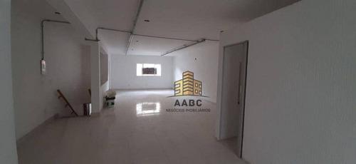Salão Para Alugar, 70 M² Por R$ 4.000,00/mês - Vila Clementino - São Paulo/sp - Sl0005