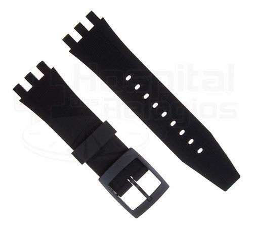 Pulseira Swatch 22mm Silicone P/ Swatch Svgk E Svgb