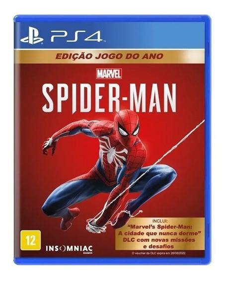 Spider Man - Ps4 - Mídia Física Lacrada