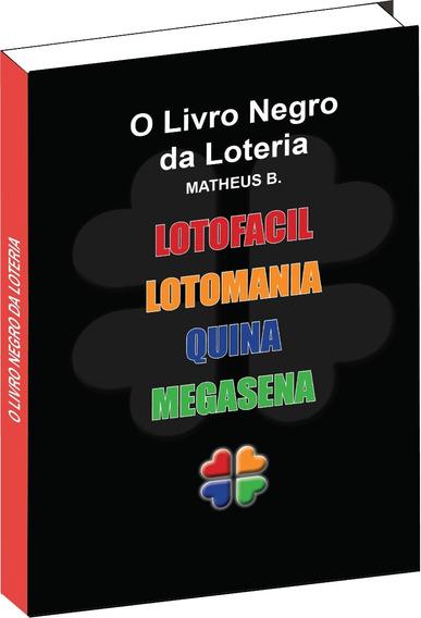 O Livro Negro Da Loteria - Combo Com Os 5 Jogos Das Loteria