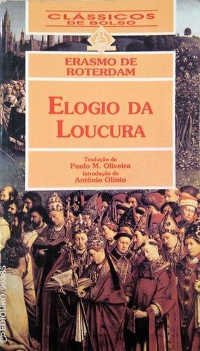 Imagem 1 de 3 de Livro Elogio Da Loucura
