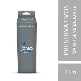 Jontex Preservativo Camisinha Lubrificado Sensitive Display